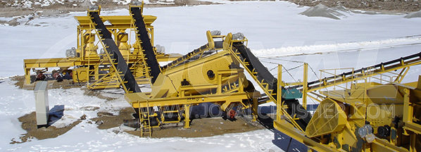 Granite Stone Crushing Plant