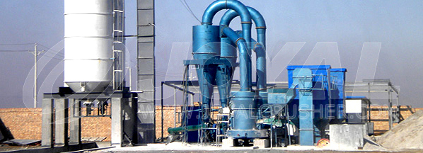 Paper making industry,Calcite and barite Grinding Plant